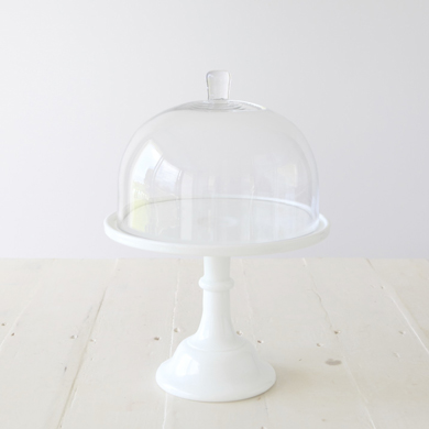 Rosanna Glass Cake Dome &#8211; Small