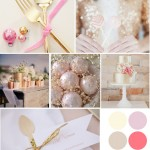 A little Gold and Pink Inspiration