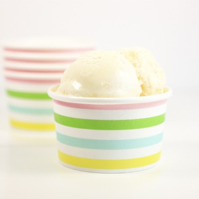 Sambellina Ice Cream Cups – Pastel Stripe
