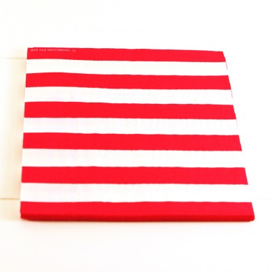 Napkins – Candy Stripe Red