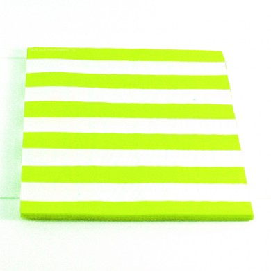 Napkins – Candy Stripe Lime