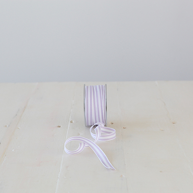 Ribbon &#8211; Provence Stripe &#8211; Purple