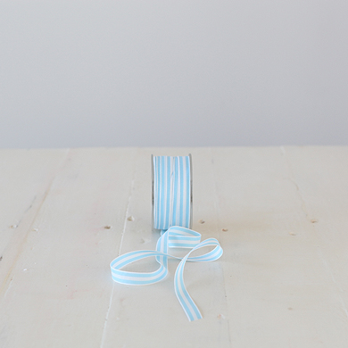 Ribbon &#8211; Provence Stripe &#8211; Blue