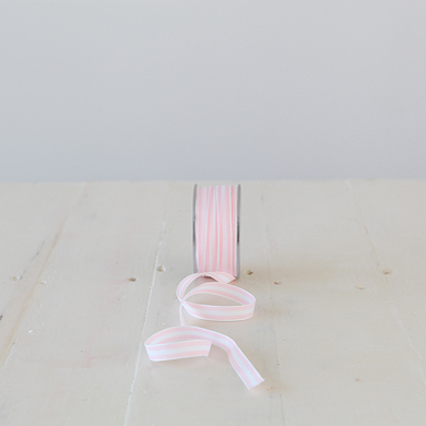 Ribbon &#8211; Provence Stripe &#8211; Pink