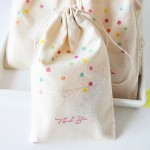 Calico Favour Bags