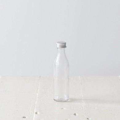 Skinny Glass Bottle with Screw top lid