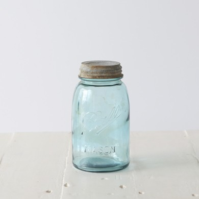 Ball Mason Vintage Jar Zinc Lid – Quart Size