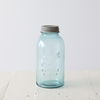 Ball Mason Vintage Jar Zinc Lid &#8211; Half Gallon Size