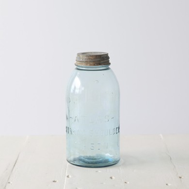 Atlas Mason Vintage Jar Zinc Lid &#8211; Half Gallon Size