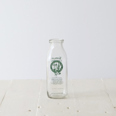 Vermont Vintage Milk Bottle &#8211; Small