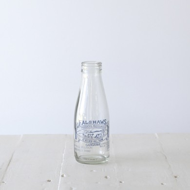 Falshaws Vintage Milk Bottle &#8211; Large