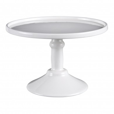 Robert Gordon Small Footed Cake Stand – White