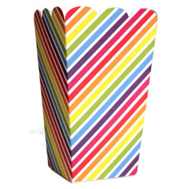 Tall Candy Box &#8211; Rainbow