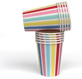 Cups – Carnival Stripe