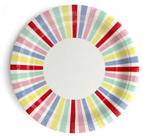 Plate – Carnival Stripe
