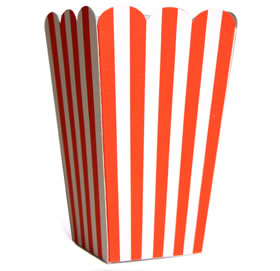 Tall Candy Box &#8211; Red Stripe
