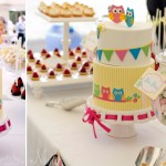 Bright and Fun Wedding Dessert Table