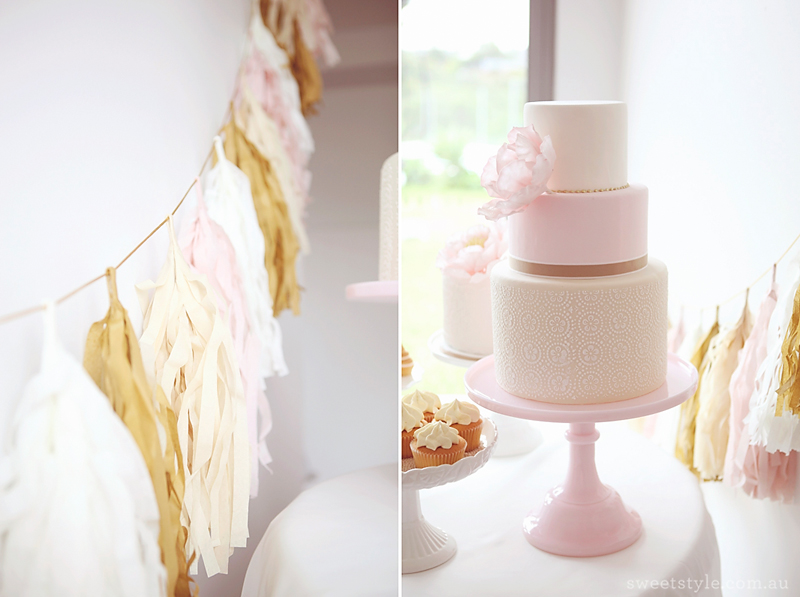 First Holy Communion Dessert Table Sweet Style