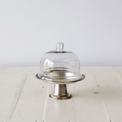 Moulin Pewter Plated Dome