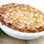 Gluten Free Recipe :: Apple & Lemon Cakey Pie