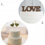 Four Things :: Cake Toppers