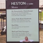 Lunch with Heston for Coles