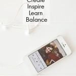 Create, Inspire & Balance