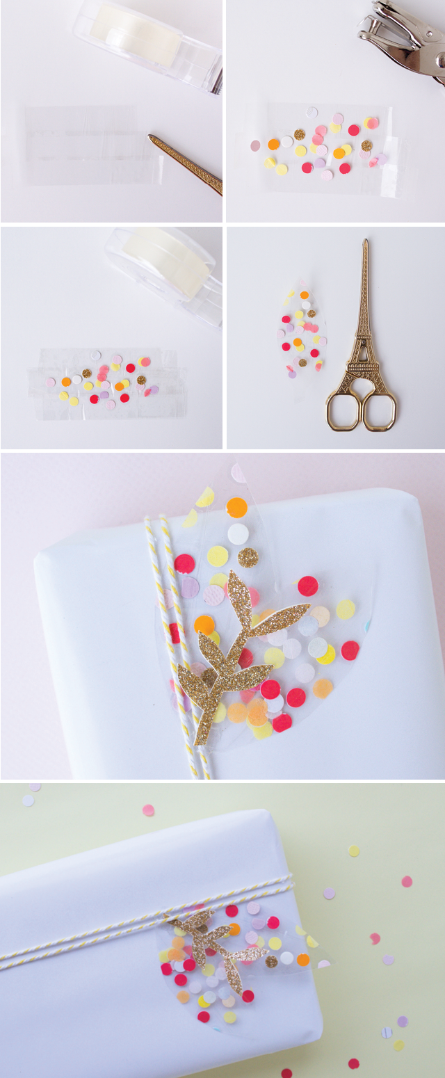 confetti-gift-wrap-idea-from-Craft-Hunter-blog