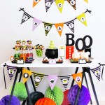 Halloween Dessert Table + Free Printable