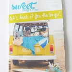 Sweet Magazine ::  Sack Me Treats & an Interview!