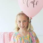 9th Birthday Celebrations & A Cute Balloon
