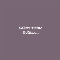 Bakers Twine &amp; Ribbon